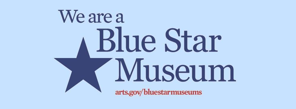 Blue Star Museum Banner