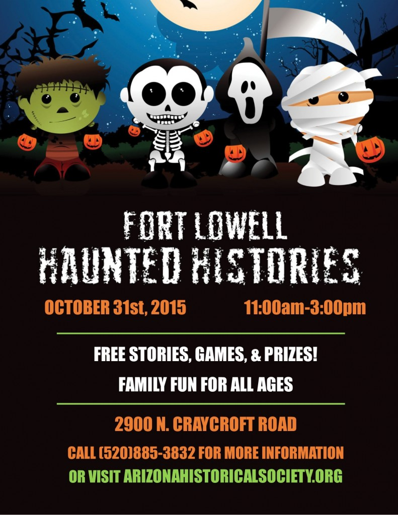 Ft Lowell Halloween Flyer