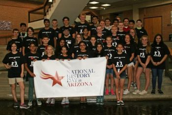Team Arizona after 2016 NHD Opening Ceremony
